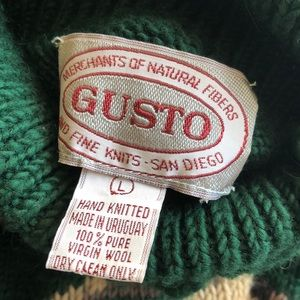 Gusto Sweaters - Gusto Wool Hunt Sweater